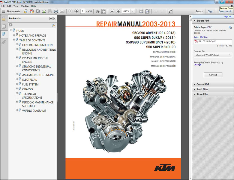ktm repair manual cd frustration solution adventure rider rh advrider com ktm 990 superduke workshop manual pdf ktm 990 superduke manual pdf